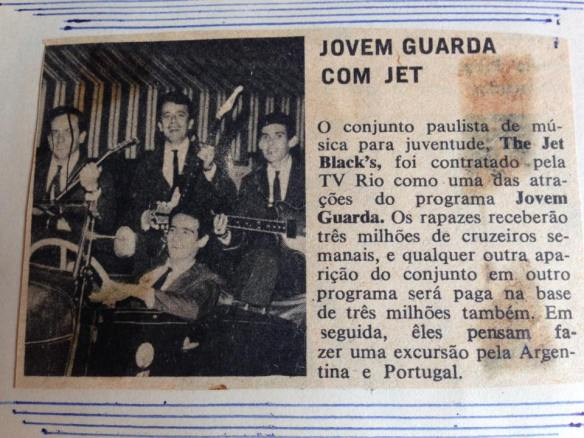 Jovem Guarda com Jet Blacks