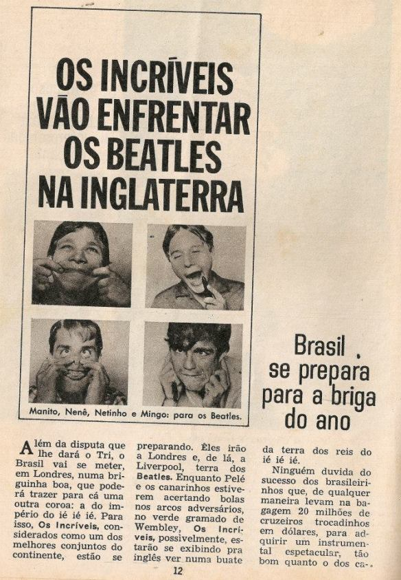 Os Incriveis x Beatles