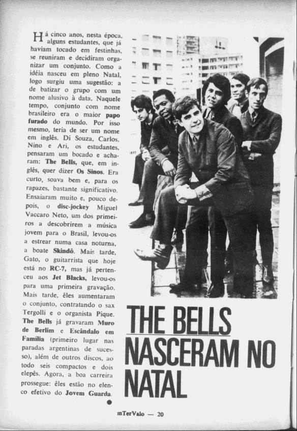 The Bells nasceram no natal