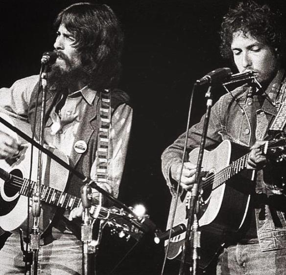 George Harrison e Dylan