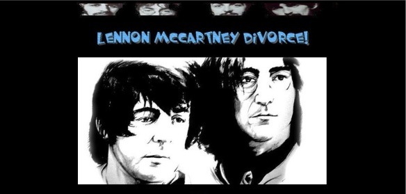 Lennon McCartney Divorce