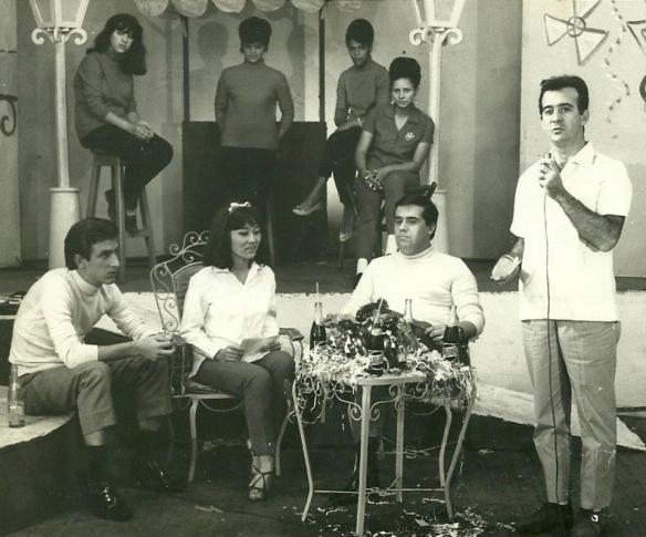No programa de Antonio Aguillar em 1962