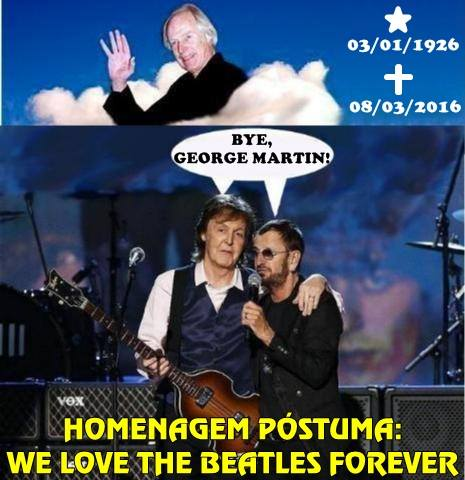 We Love se despede de George Martin - by Joe