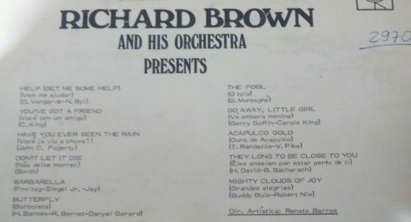 Richard Brown LP 3