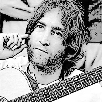 John Lennon Pintura: Hugo Rhoden