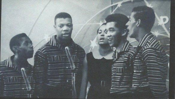 The Beverlys - Da esquerda para a direita Mariano, Pereira, Amelia, Castro e Wander